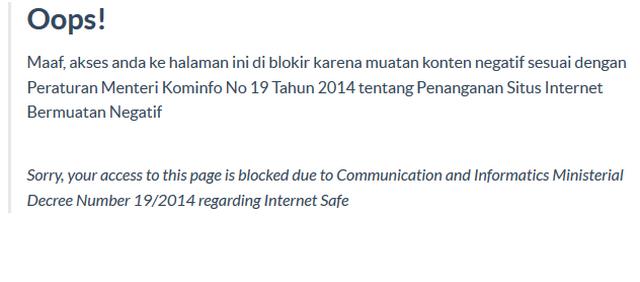 Daftar Situs Radikal Di Indonesia