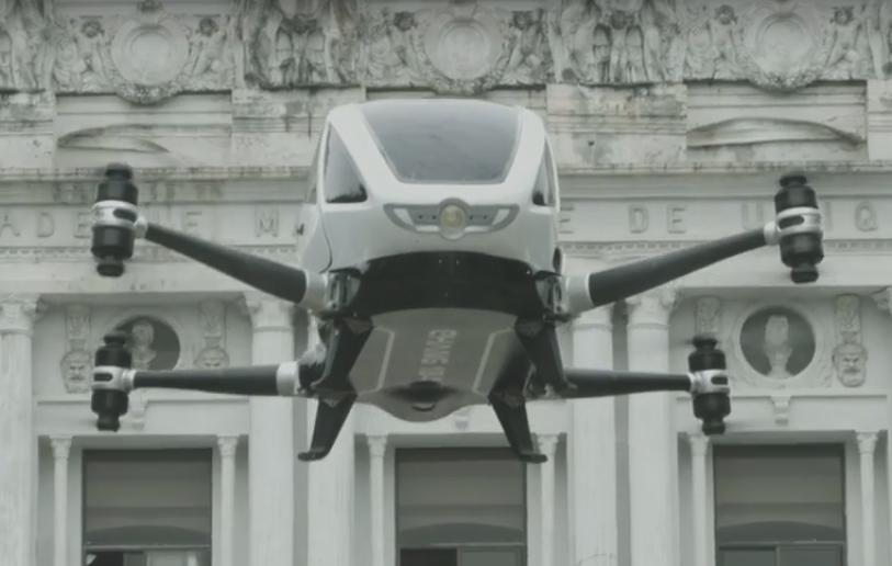 Ehang 184 - Drone Yang Bisa Mengangkut Manusia