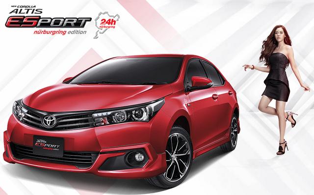Gambar Toyota New Corolla Altis 2016 Warna Merah