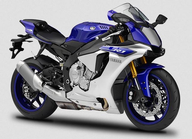 Gambar Yamaha R1 Warna Biru