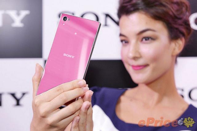 Ponsel Untuk Cewek Sony Xperia Z5 Warna Pink