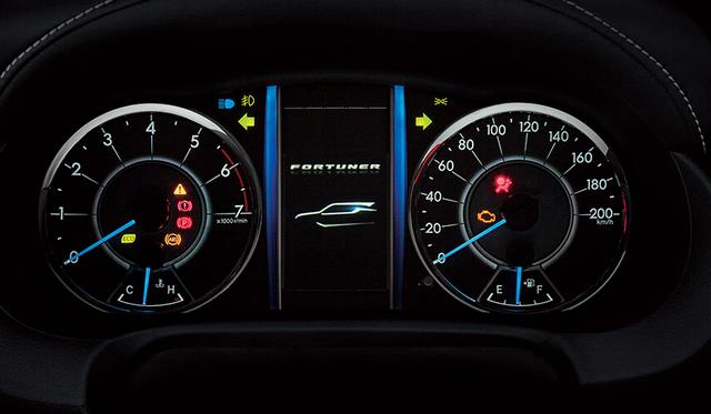 Speedometer Toyota Fortuner 2016