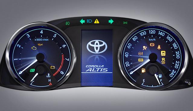 Speedometer Toyota New Corolla Altis 2016
