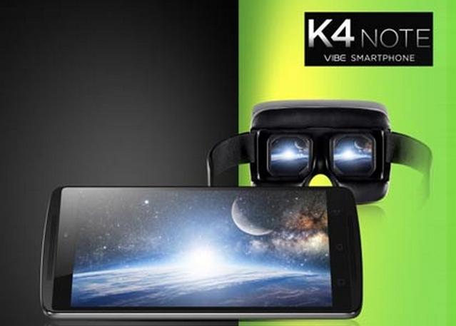 Spesifikasi dan Harga Lenovo Vibe K4 Note