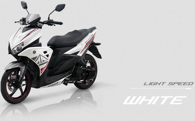 Yamaha Aerox 125 LC warna Putih