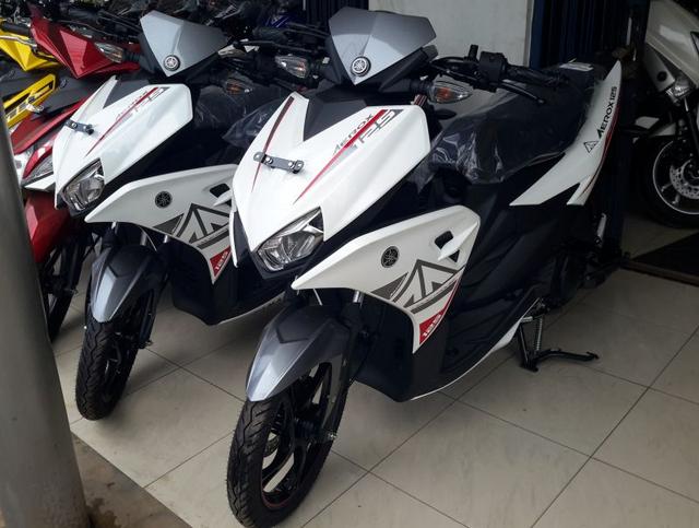 Yamaha Aerox 125 Warna Putih