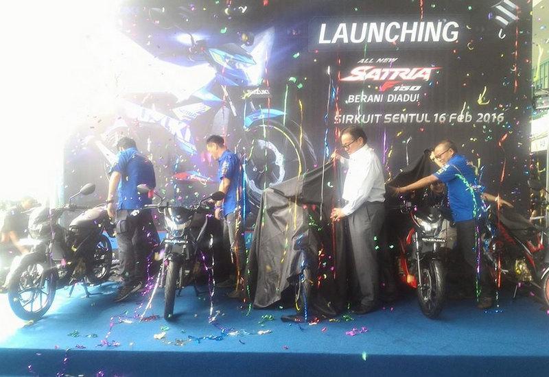 Acara Peluncuran Satria F150 2016
