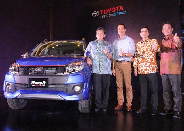 Acara Peluncuran Toyota Rush TRD Sportivo Terbaru