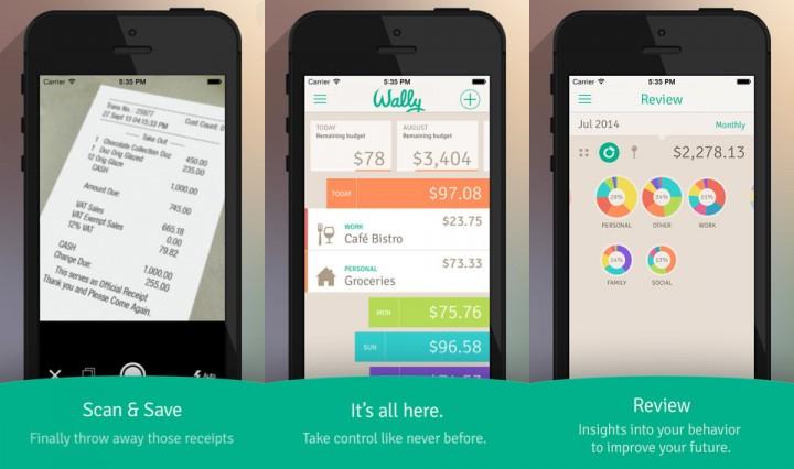 Aplikasi Keuangan Pribadi Terbaik - Wally
