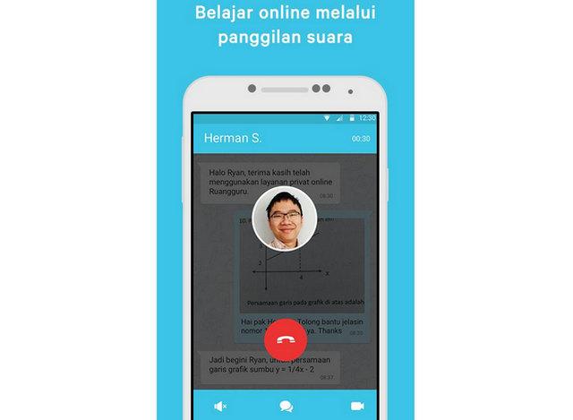 Belajar Online melalui Panggilan Suara