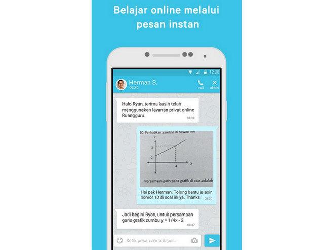 Belajar Online via Chatting