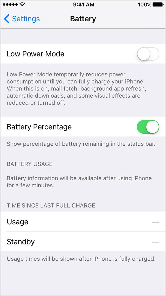 Cara Menunjukan Angka Persentasi Baterai iPhone Di iOS 9