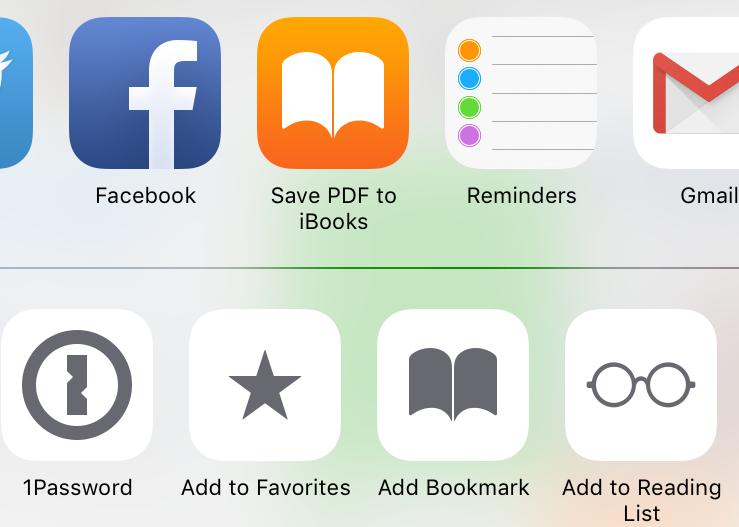 Cara Mudah Membuat PDF Dari Halaman Web Safari di iPhone, iPad, dan iPod Touch