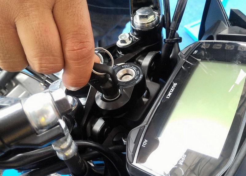 Fitur Kunci Magnet Pengaman Satria F150 Terbaru