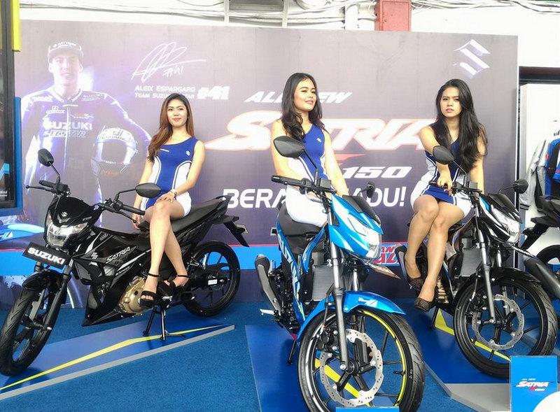 Gambar Suzuki All New Satria F150