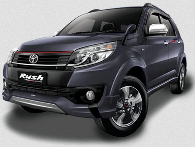Gambar Toyota New Rush Warna Abu-Abu