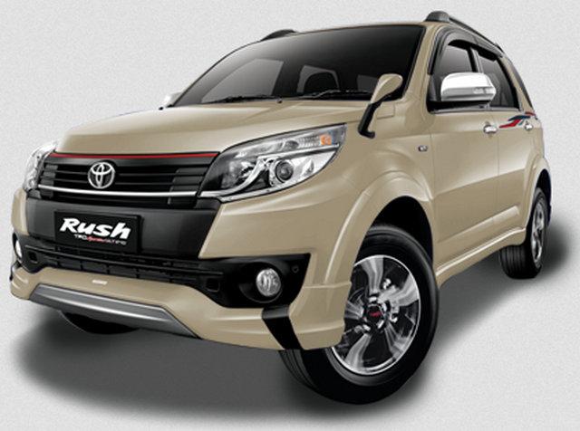Gambar Toyota New Rush Warna Coklat Muda