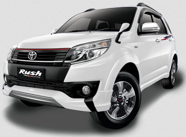 Gambar Toyota New Rush Warna Putih
