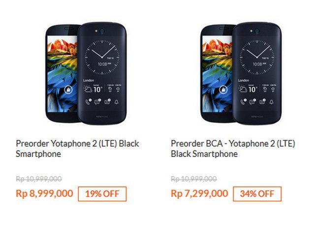Harga YotaPhone 2 Di Indonesia