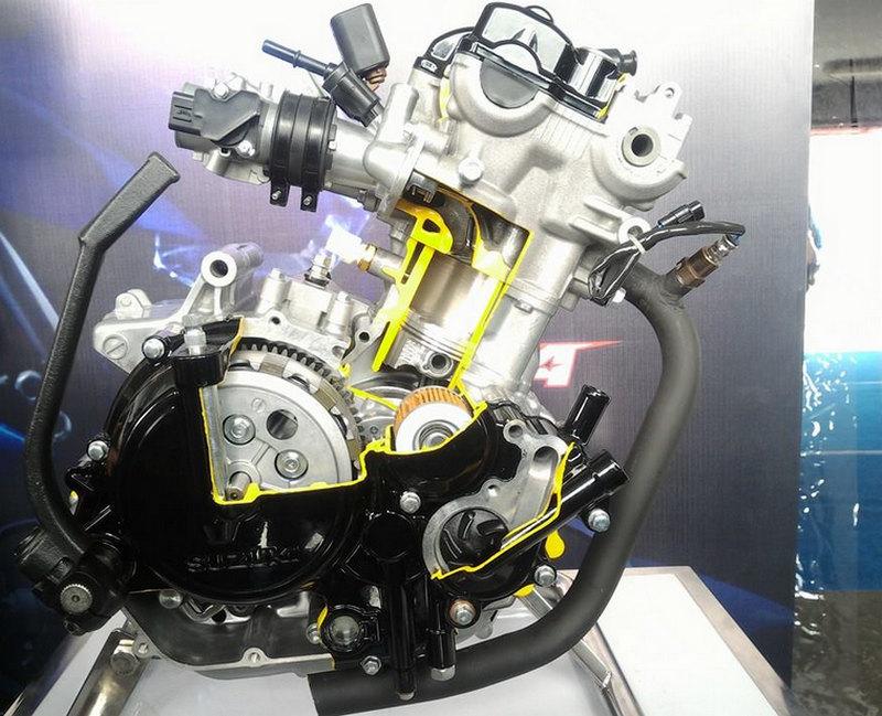 Mesin Satria F150 2016