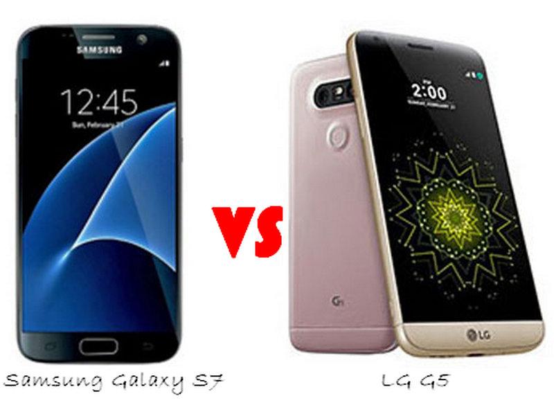 Perbandingan LG G5 dan Samsung Galaxy S7