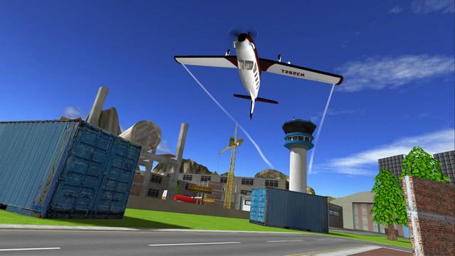 Review Game Flight Simulator iPhone - Airplane RC Flight Simulator 2