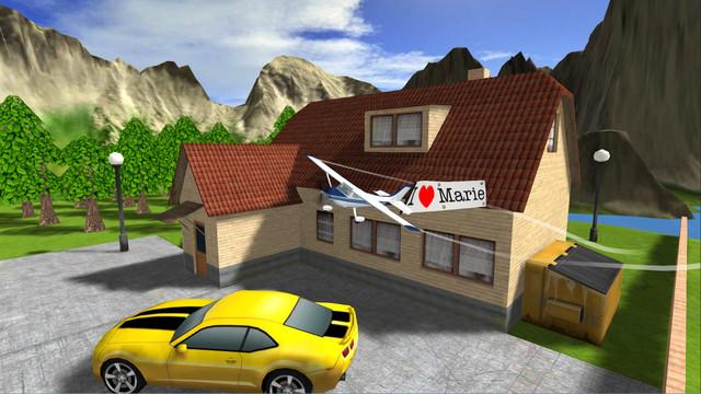 Review Game Flight Simulator iPhone - Airplane RC Flight Simulator 3
