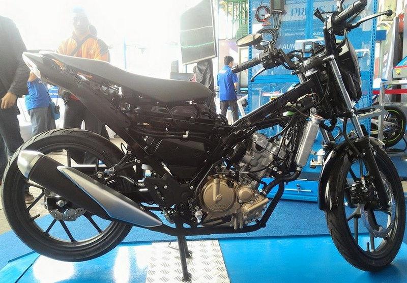 Sasis dan Rangka Suzuki All New Satria F150