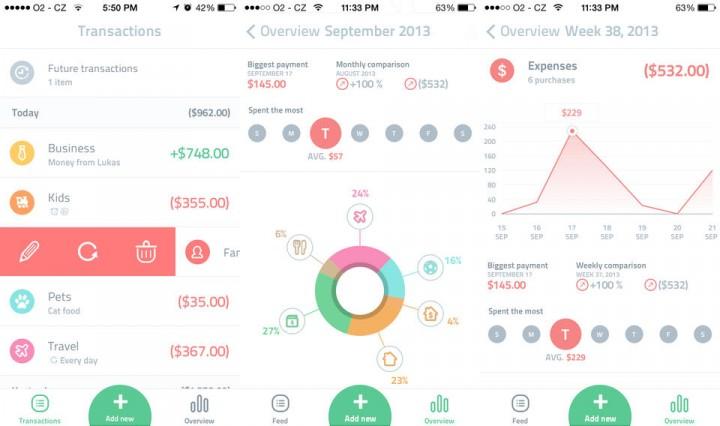 Spendee - Aplikasi Keuangan Pribadi Terbaik iPhone