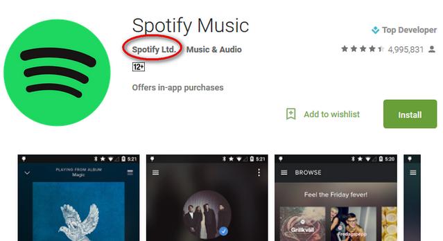 Download Aplikasi Spotify untuk Android