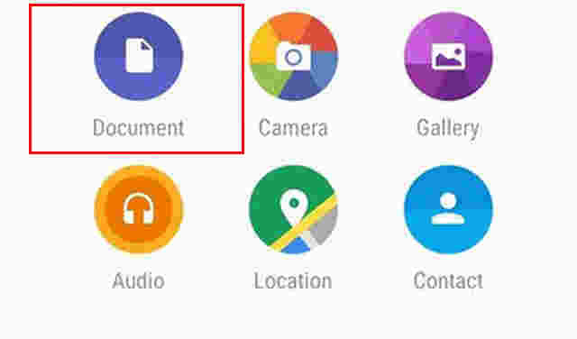 Fitur Dokumen di Aplikasi WhatsApp