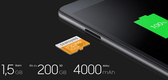Fitur dan Spesifikasi Samsung Galaxy Tab A 2016