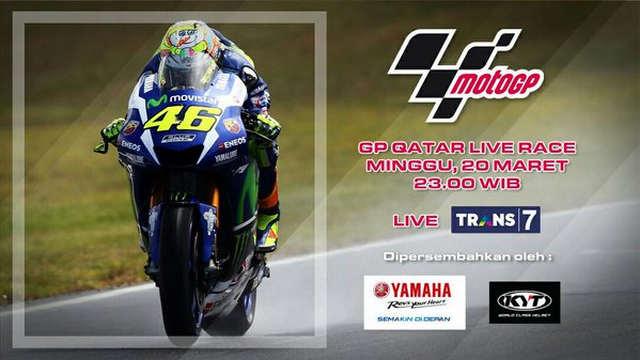 Jadwal Siaran Langsung MotoGP Qatar 20 Maret 2016 Di Trans7