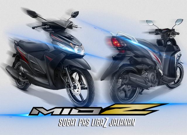Spesifikasi dan Harga Yamaha Mio Z