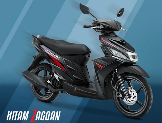 Yamaha Mio Z warna Hitam