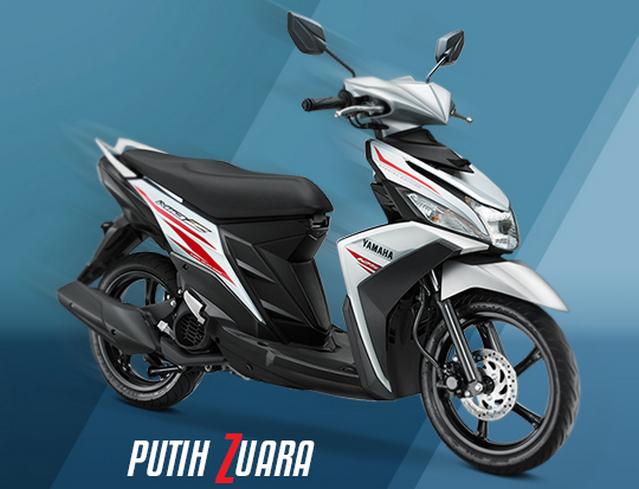 Yamaha Mio Z warna Putih