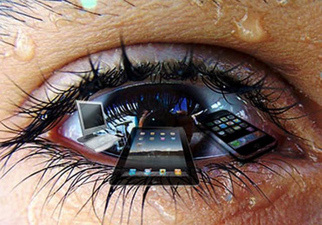 Bahaya Ponsel dan Tablet Bagi Kesehatan Mata
