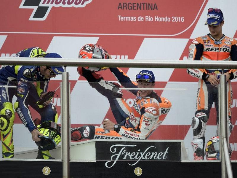 Hasil MotoGP Argentina 2016 - Marquez Juara, Rossi Kedua, Pedrosa Ketiga