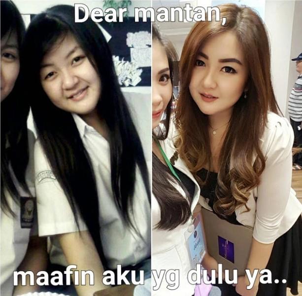 Meme Dear Mantan maafin aku yang dulu 2.