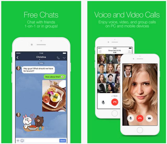 Aplikasi Android Terpopuler Line