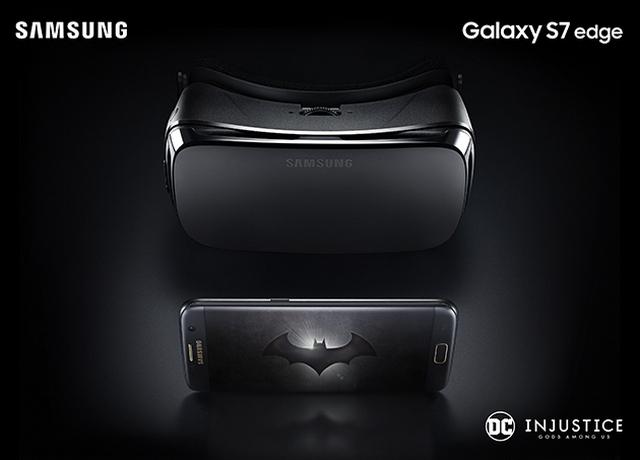Gambar Samsung Galaxy S7 Edge Edisi Batman