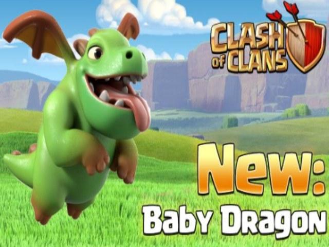 Pasukan Baby Dragon di Game Clash of Clans Terbaru