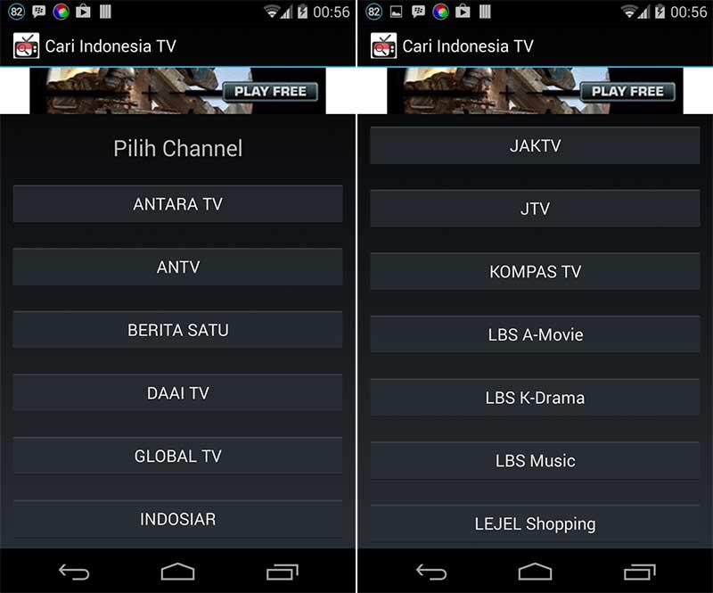 Cari Indonesia TV - Aplikasi TV Android Terbaik