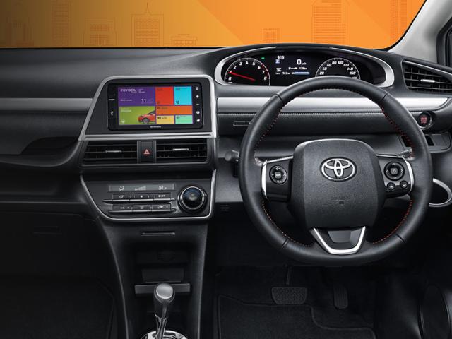 Gambar Dashboard Interior Toyota Sienta