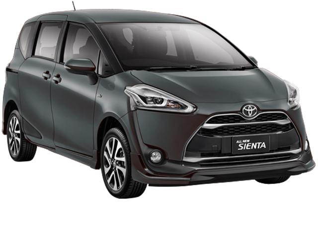 Gambar dan harga Toyota All New Sienta Warna Abu-abu (Gray Metallic)