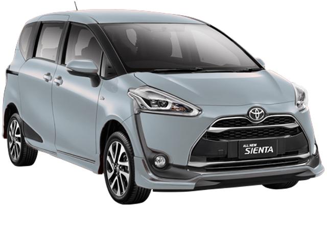 Gambar dan harga Toyota All New Sienta Warna Silver(Silver Metallic).