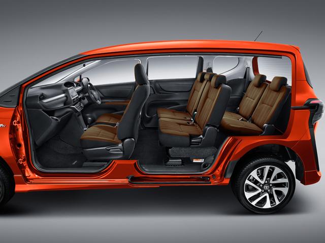 Interior dan Muatan Toyota Sienta