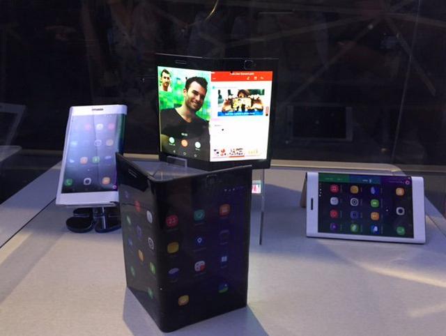 Konsep Tablet dan Smartphone Layar Lipat Lenovo