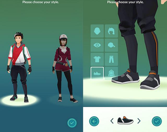 Cara Instal dan Download APK Pokemon GO di Indonesia - Memilih Karakter Pemain.