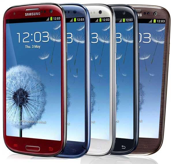 Spesifikasi Samsung S3